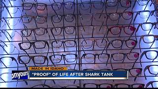 Business is booming for local sustainable eyewear company - Video