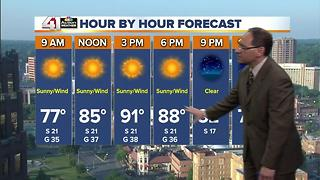 Jeff Penner Sunday Morning Forecast Update 6 11 17 - Video