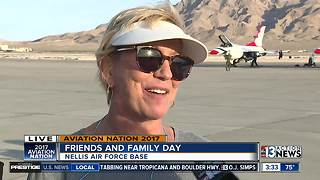 Over 80,000 people reportedly show up for Aviation Nation Friends and Family Day - Video