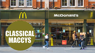 'London's roughest McDonald's' now plays classical music to help fight crime - Video
