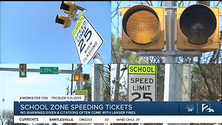 School Zone Speeding Tickets