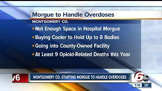 Rural county starting morgue to handle overdose deaths - Video