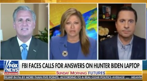"Rep. Nunes: Steele Dossier seems to be ""fantasy based off the Biden family"""