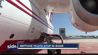 Busy season for firefighter pilots - Video