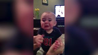 Baby Boy CRIES When You Stop Singing His Favorite Song - Video