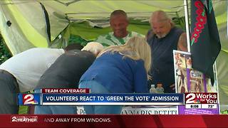 Green the Vote responds to confusion Tuesday - Video
