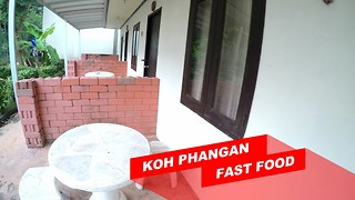 Fast Food - Koh Phangan, Thailand - Video