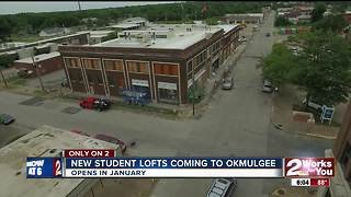 New student lofts coming to Okmulgee - Video