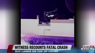 Witness recounts fatal crash