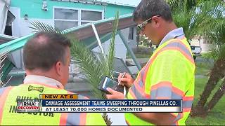 Disaster assessment teams comb Pinellas County - Video