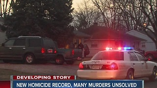 New homicide record in Indianapolis - Video