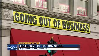 Boston Store's Milwaukee history nears the end