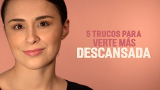 5 trucos para verte más descansada - Video