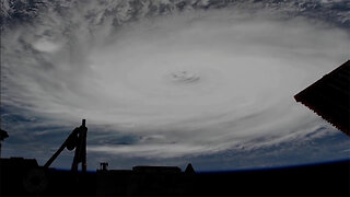 Incredible International Space Station View of Hurricane Dorian