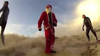 Santa Surfer! - Video