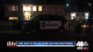Police investigating after boy shoots sister - Video