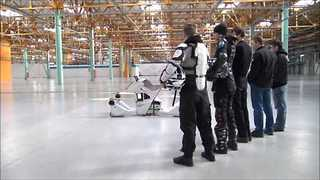 Hoversurf Team Show Off Their Latest Project, Scorpion-3 Hoverbike - Video