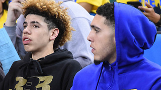 LaMelo and LiAngelo Ball Playing TOGETHER Overseas After Signing with Agent! - Video