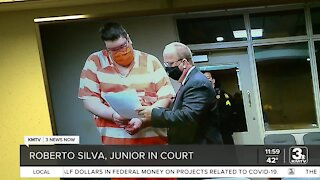 Roberto Silva Jr. in court