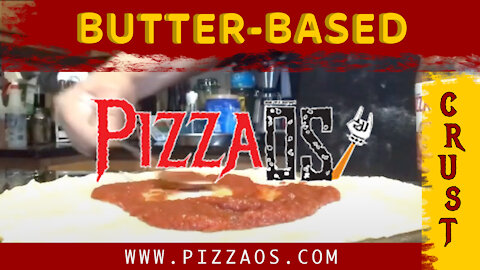Home cooked pizza with PizzaOS