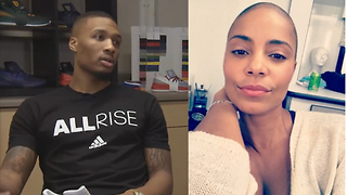 Damian Lillard Says He Like His Women BALD - Video