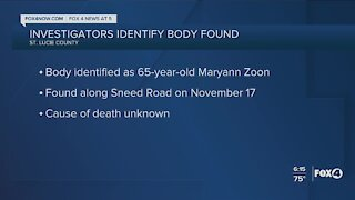 Woman's body found on side of road