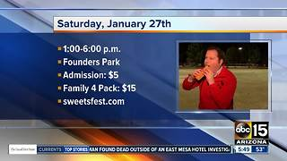 Get a sugar rush at the S'more Sweets Festival - Video