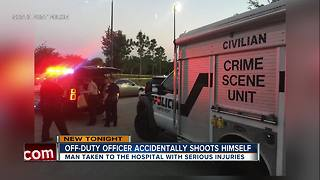 Detectives investigating after Florida police officer accidentally shoots himself - Video
