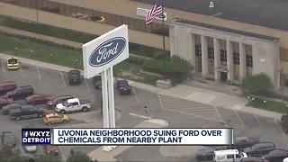 Ford facing lawsuit from Livonia homeowners over toxic contamination - Video