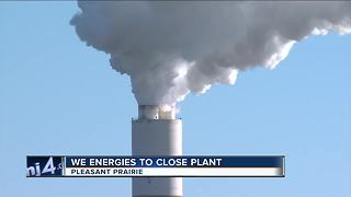 We Energies closing 150-employee Pleasant Prairie plant - Video