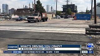 What's Driving You Crazy? A rough railroad crossing