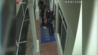 Attempted burglary at Jupiter jewelry store - Video