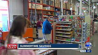 Summertime savings now in session