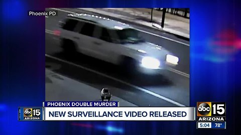 Phoenix police release image of vehicle wanted in downtown double homicide