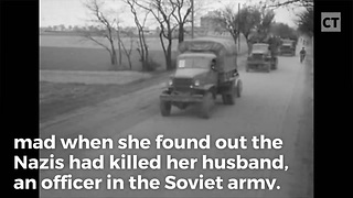 Nazis Killed Her Husband, So Woman Buys Tank for Revenge Killing Rampage - Video