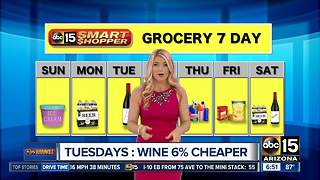 Best days for specific groceries? Check out our grocery forecast! - Video