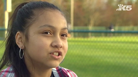 Mother Is Proud of Elementary School Daughter for Kneeling on the Field During the National Anthem