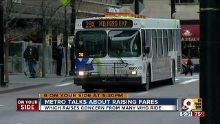 Metro talks about raising fares - Video