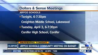 JeffCo Schools inviting public to talk to the superintendent about the budget - Video