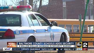 Baltimore County adds security measures to schools