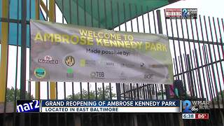 Grand Reopening of Ambrose Kennedy Park - Video