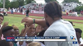 Albert Wilson Youth Skills Camp - Video