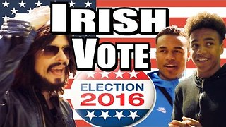 The Irish Cast Their Vote in the US Election - Video