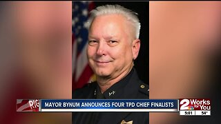 Mayor Bynum Announcing Four TPD Chief Finalist