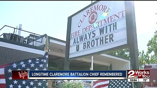 Longtime Claremore Battalion Chief remembered