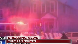 Eleven people forced from their home after fire - Video