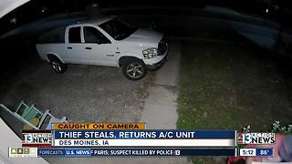 Man returns A/C after being yelled at