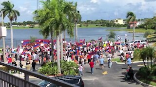 Florida Armenians protest in West Palm Beach