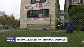Moving deadline for Elmwood business - Video