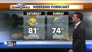 More storm chances this weekend